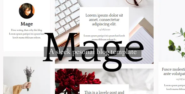 Masonry HTML Blog template