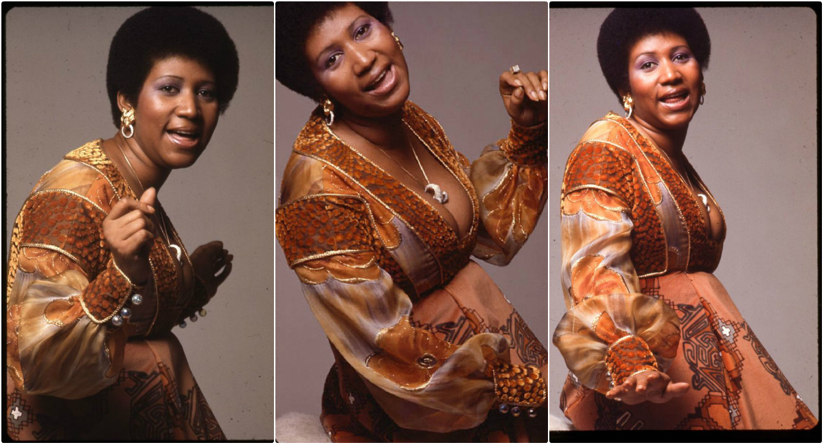Beautiful Pics of Aretha Franklin Photographed by Anthony Barboza in 1971
