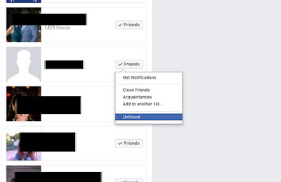 How Do You Unfriend Somebody On Facebook Now?