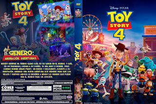 TOY STORY 4 – 2019 [COVER – DVD + BLU RAY]