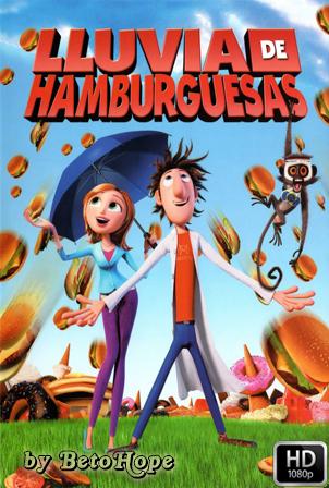 Lluvia de Hamburguesas [2009] [Latino-Ingles] HD 1080P  [Google Drive] GloboTV