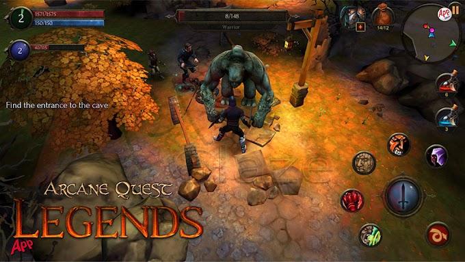 Arcane Quest Legends – Offline RPG  Apk MOD (Money) + Data Android
