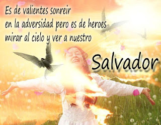 es de valiente sonreir en la adversidad - imagenes cristianas