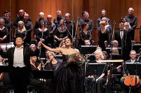 Donizetti: L'Ange de Nisida - David Junghoon Kim, Joyce El-Khoury 2018 (c) ROH and Opera Rara. Photo by Russell Duncan
