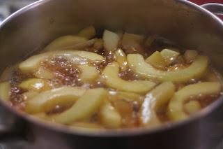 apple-pineapple zucchini candy