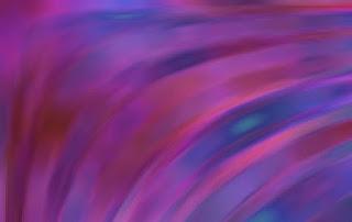 曲線を描くノイズ色面