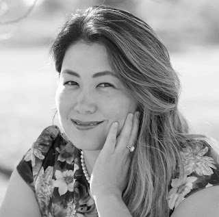 Black & White picture of Josh Blue's ex-wife Yuko Kubota