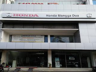 HONDA MANGGA DUA / HONDA ARISTA MANGGA DUA
