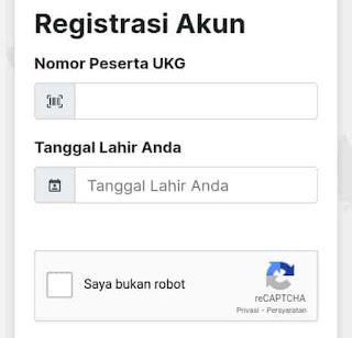 registrasi akun gtk