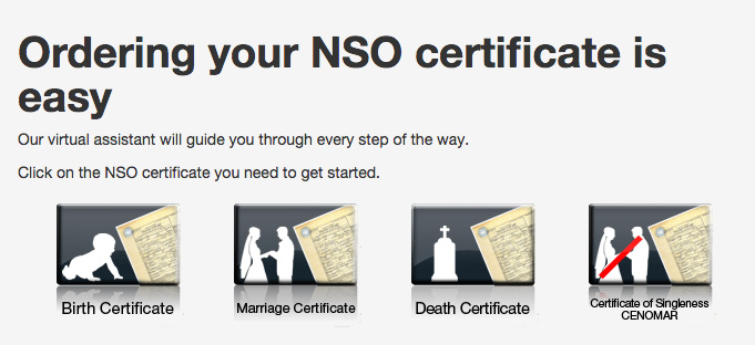How to get NSO Certificate Online Birth, Marriage, Death or CENOMAR