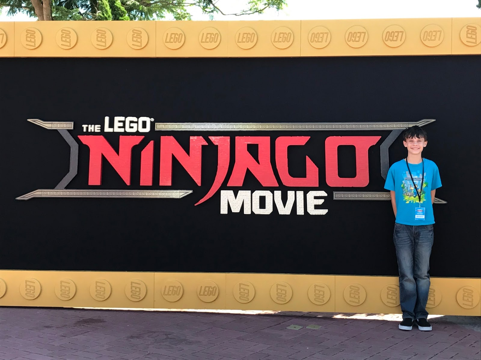 Be Brave, Keep Going: Lego Ninjago Press Day and Movie Review