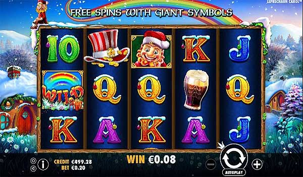Main Gratis Slot Indonesia - Leprechaun Carol (Pragmatic Play)