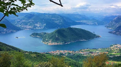 Un isola in mezzo al lago d'Iseo: Monte Isola - Turismo in Lombardia