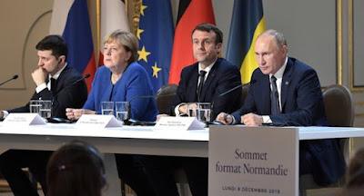 """У Парижі відбувся саміт """"нормандської четвірки"""""""