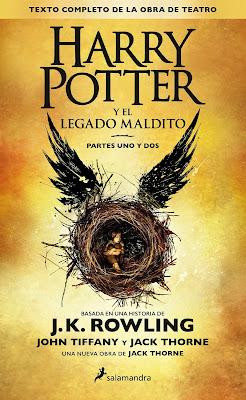 Harry Potter y el legado maldito 8, J.K. Rowling