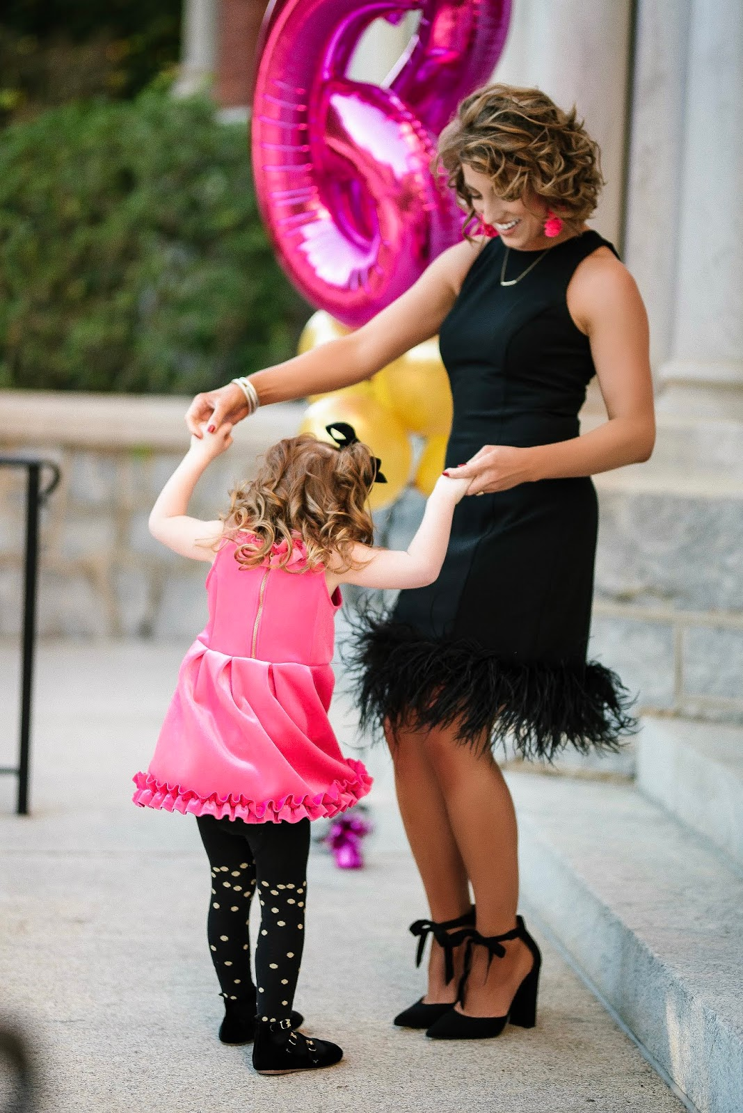 Birthday Post: Pink & Black Look + Q&A - Something Delightful Blog