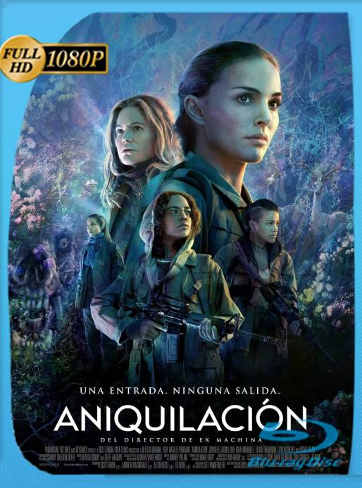 Aniquilación (2018) BRRip 1080p Latino [GoogleDrive] Ivan092