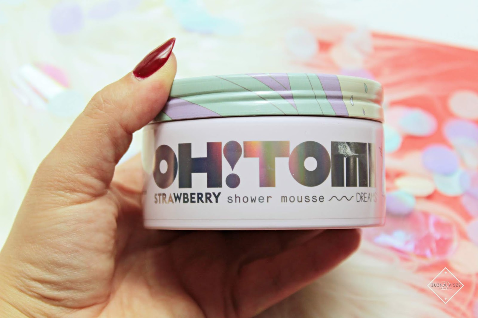 OH!TOMI Strawberry Shower Mousse - pianka do mycia z kolekcji Dreams