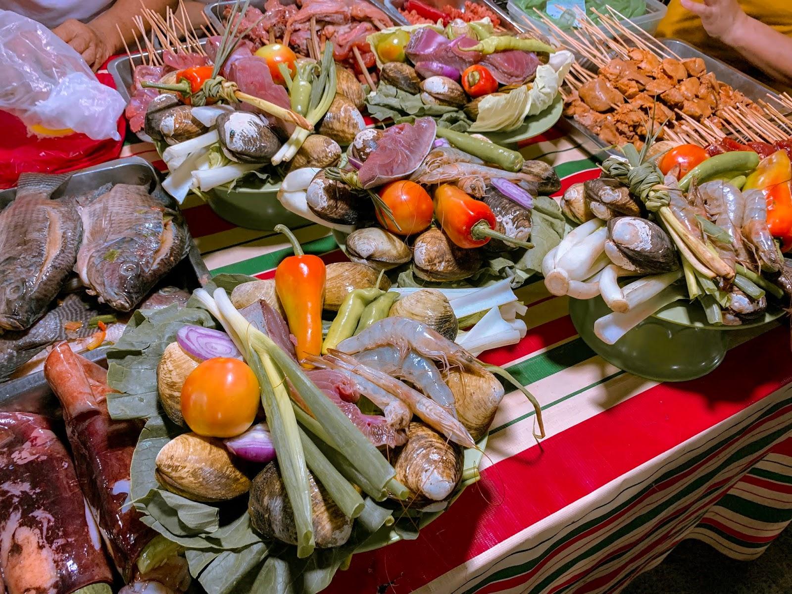 New Food Choices at Roxas Night Market