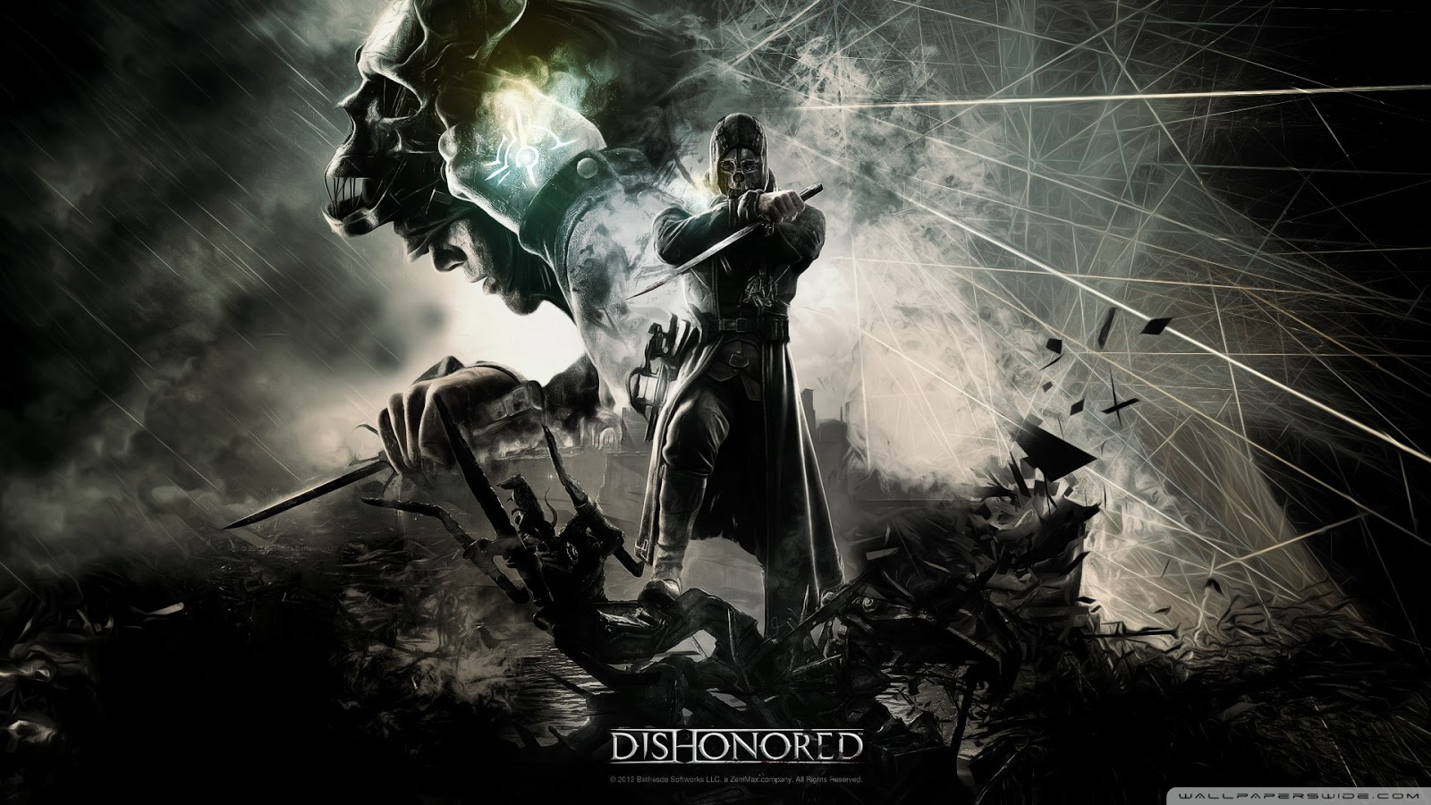 The Game Stuffs: Dishonored HD Wallpaper