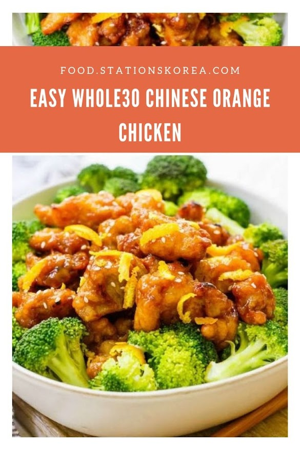 Easy Whole30 Chinese Orange Chicken