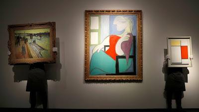 Lukisan cat minyak Picasso dijual seharga lebih dari $ 100 juta di lelang New York