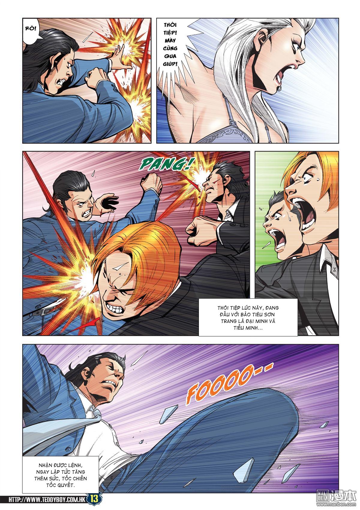 Người Trong Giang Hồ RAW chap 2072 - Trang 12