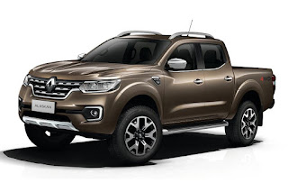 Renault Alaskan Double Cab 4x4 (2017) Front Side