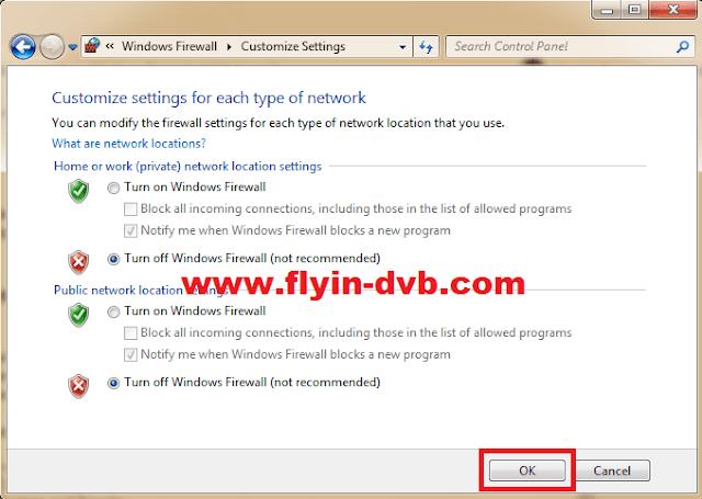 Cara menonaktifkan windows firewall