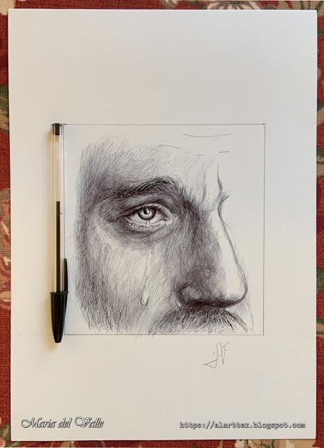 INKTOBER - 31 Days 31 Drawings - Day 06 - Tear/Larme/Lágrima