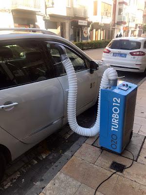 desinfecciones con ozono en Castellón