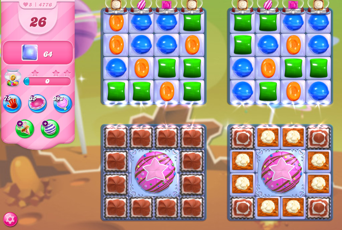 Candy Crush Saga level 4776