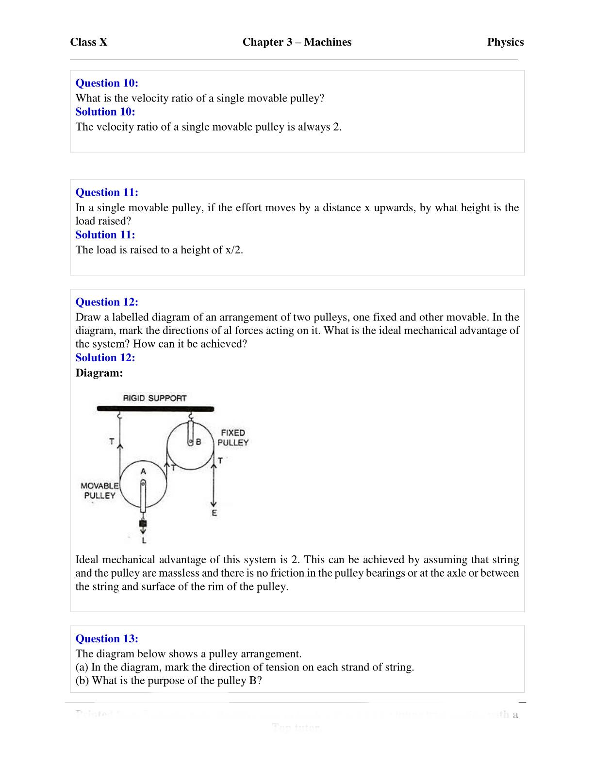 Icse Physics Class 10 Pdf