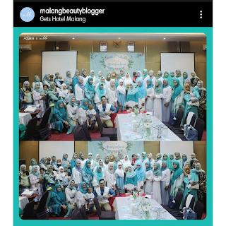 Azalea beauty hijab bersama komunitas wanita di malang raya