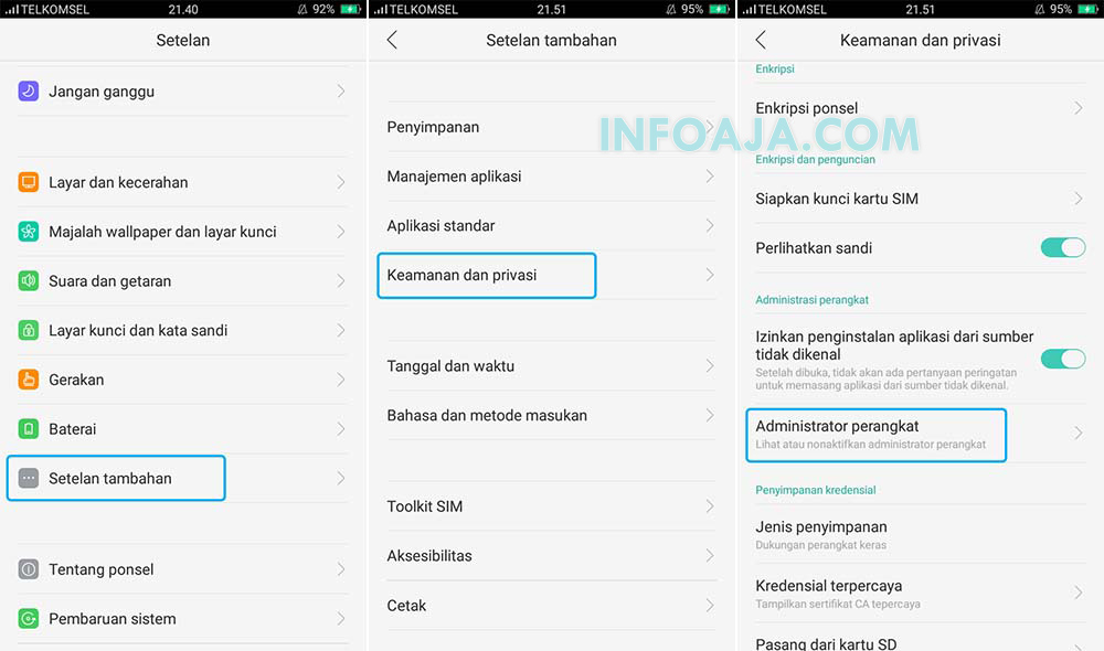 Administrator Perangkat Android