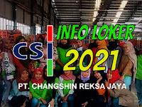 Lowongan Kerja PT Chang Shin Leles Garut 2021