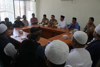 Kapolres Ciko Bersilaturahmi  Dengan Para Ulama Cirebon