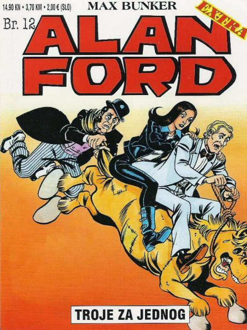 Troje za Jednog - Alan Ford