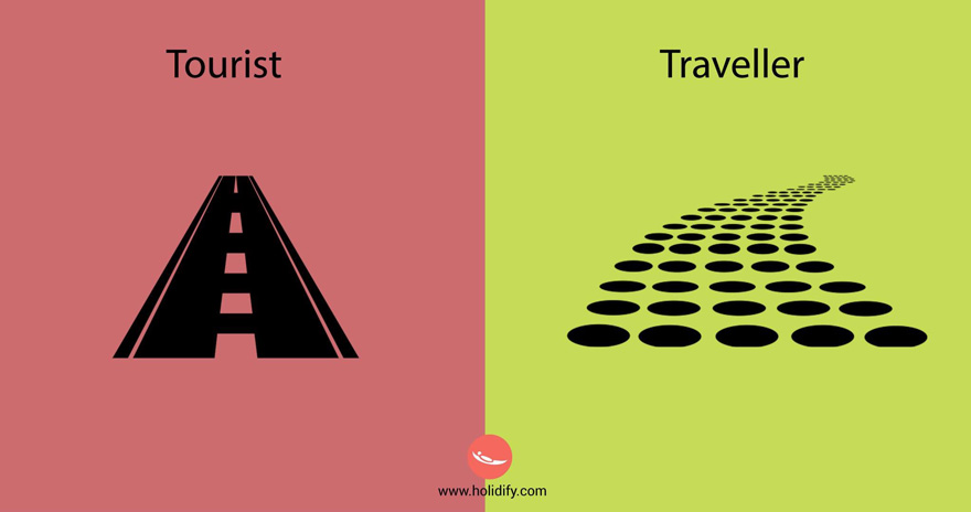 #4 Tourist Vs Traveller - 10+ Differences Between Tourists And Travellers