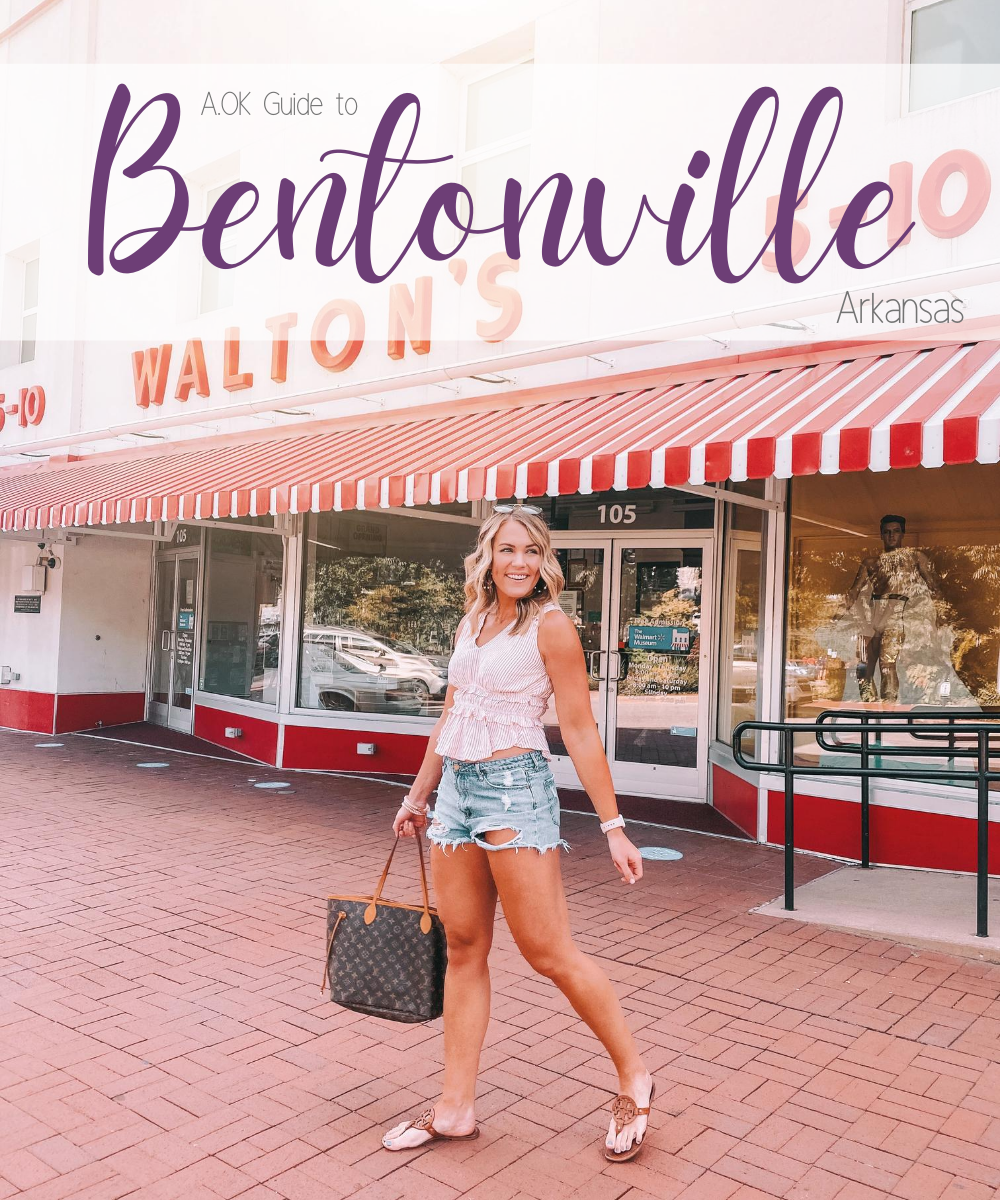 Travel blogger Amanda Martin shares a weekend travel guide to Bentonville, Arkansas