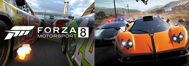 Comparison in Forza Motorsport 8 vs NFS Hot Pursuit Remastered
