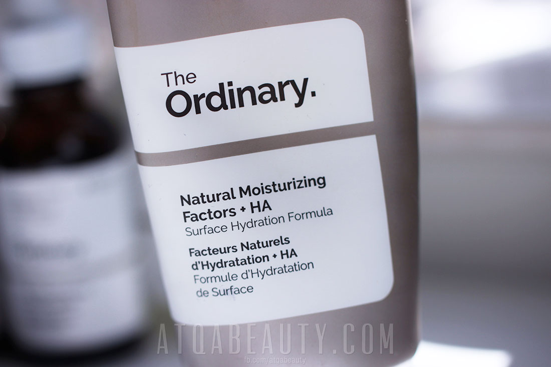 The Ordinary - Natural Moisturizing Factors + HA