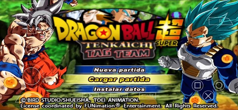 Dragon Ball Super Tenkaichi Tag Team Mod PSP ISO Download