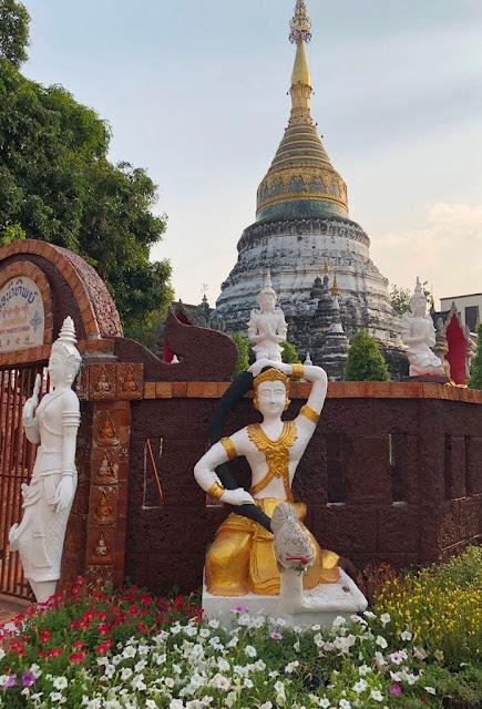 Wat Buppharam - Chiang Mai - Tailândia