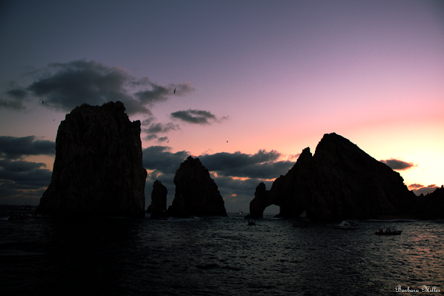 Sunset at the Arch of Cabo San Lucas
