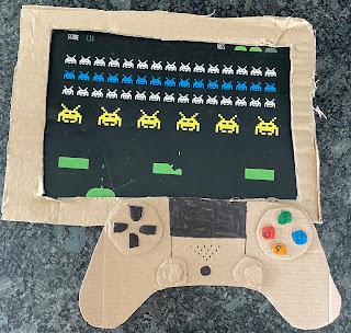 Manette de console et écran d'un jeu de la Box Kidi Globe Trotter sur la Corée