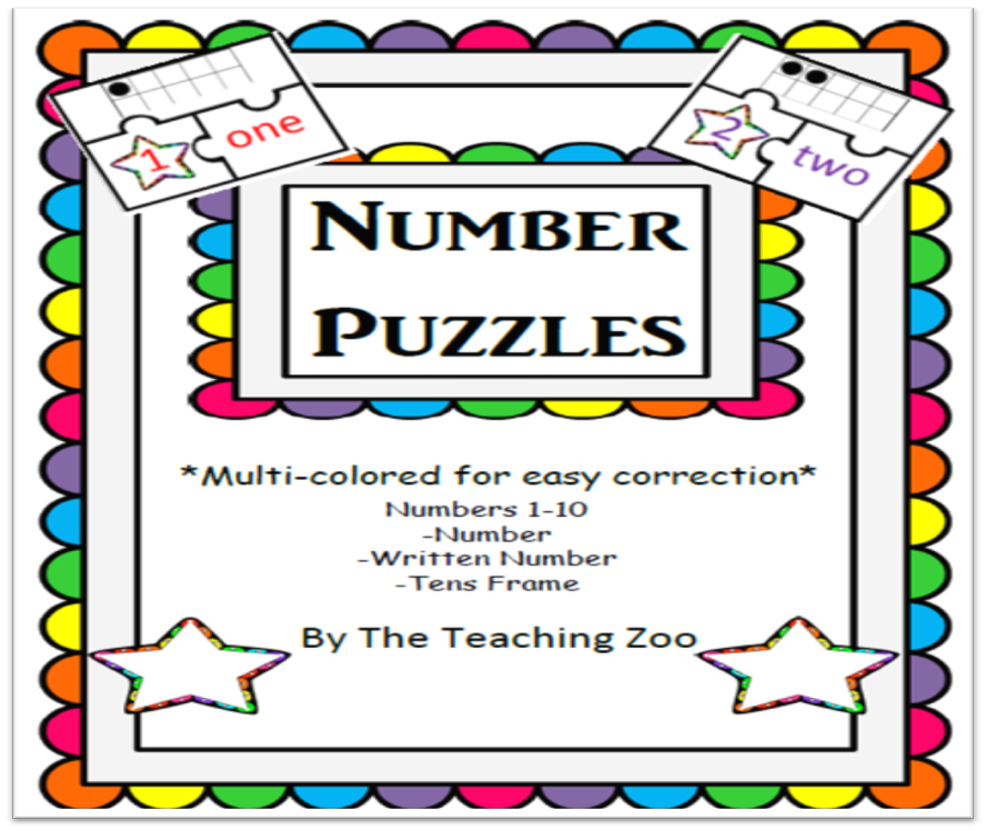 http://www.teacherspayteachers.com/Product/3-Piece-Number-Puzzles-with-10s-frames-Freebie-918840