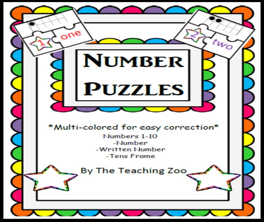 http://www.teacherspayteachers.com/Product/3-Piece-Number-Puzzles-with-10s-frames-Freebie-918840
