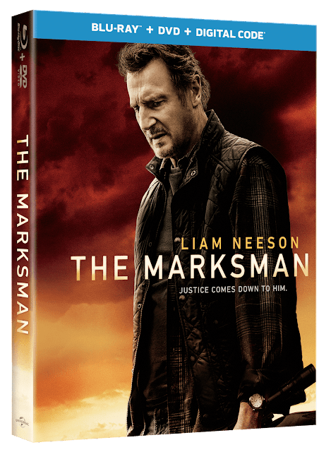 {Blu-ray Review} - THE MARKSMAN (2021)