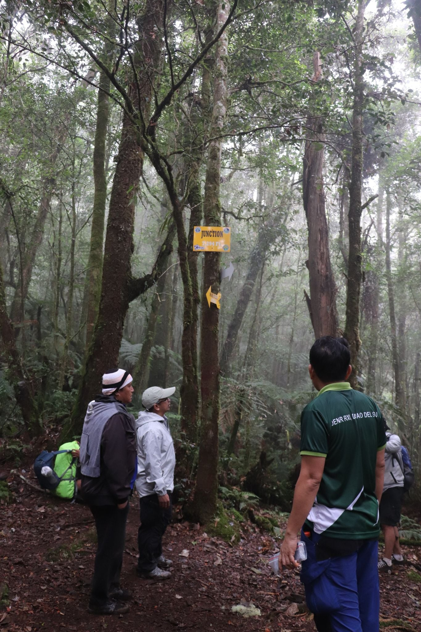 Mt. Apo Trails - DENR-XI Trail monitoring and assessment team